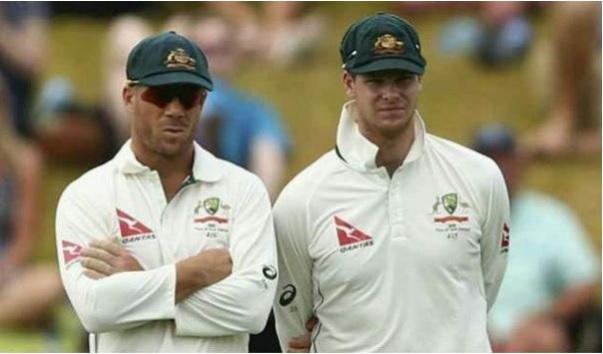 Steven Smith and David Warner