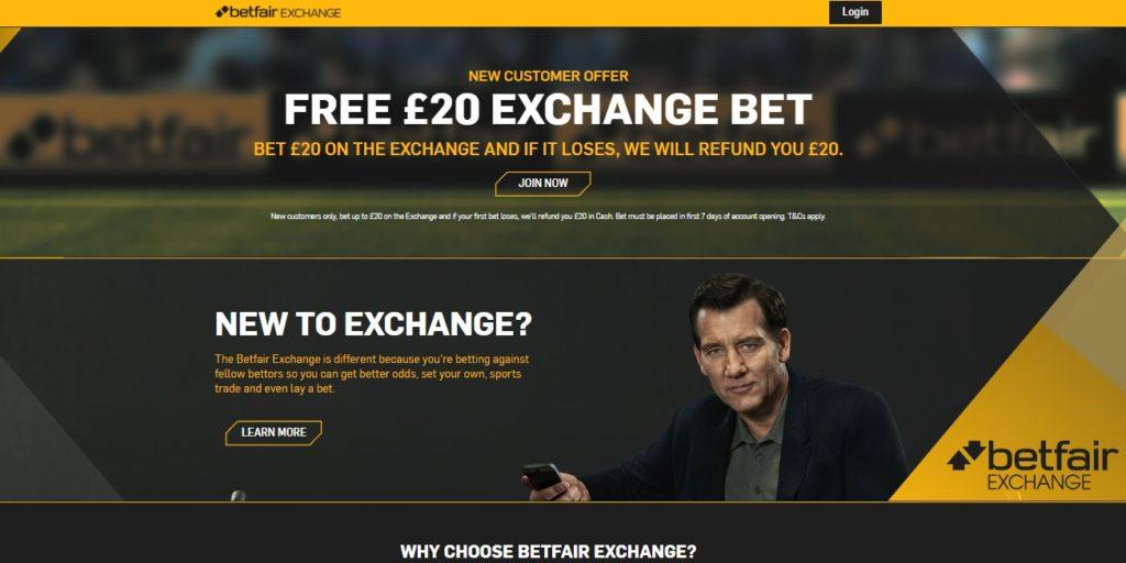 Betfair Exchange