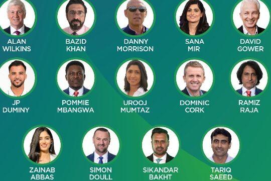 Pakistan Super League Presenters 2021