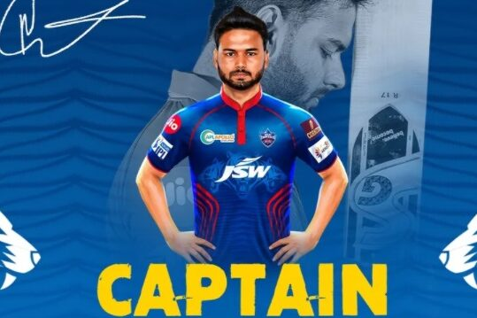 Rishabh Pant to captain Delhi Capitals