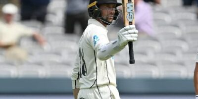 Devon Conway scores double century at Lord's